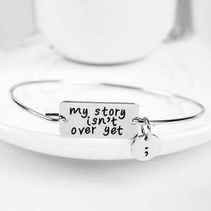 New! Women's Vintage My Story Charm Bracelet